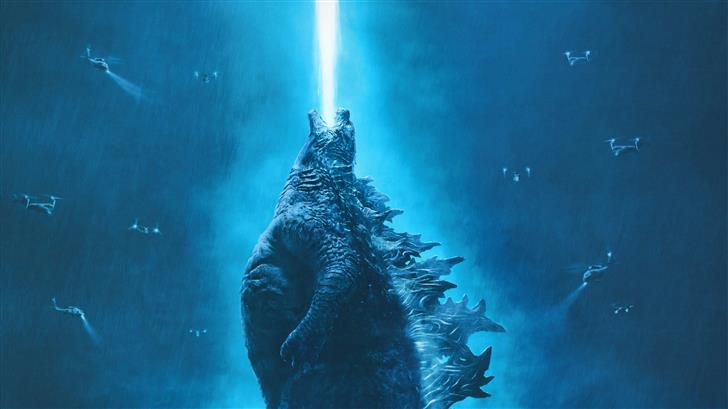 godzilla king of the monsters 5k 2019 Mac Wallpaper
