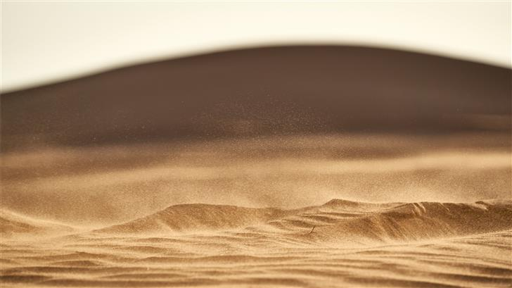 brown sand in closeup photography Mac Wallpaper