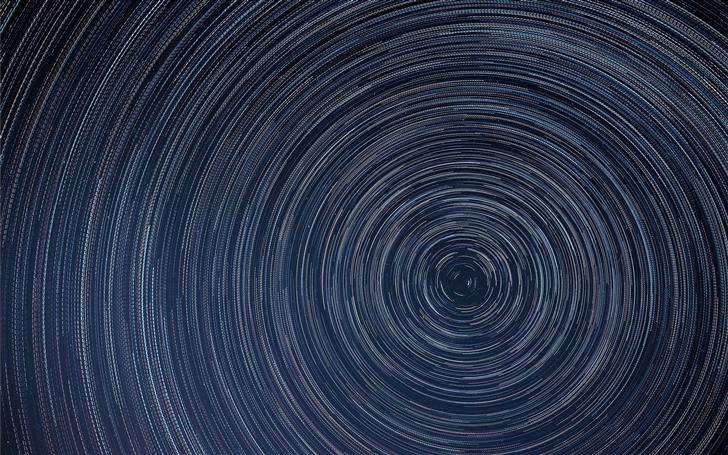 blue spiral wallpaper Mac Wallpaper