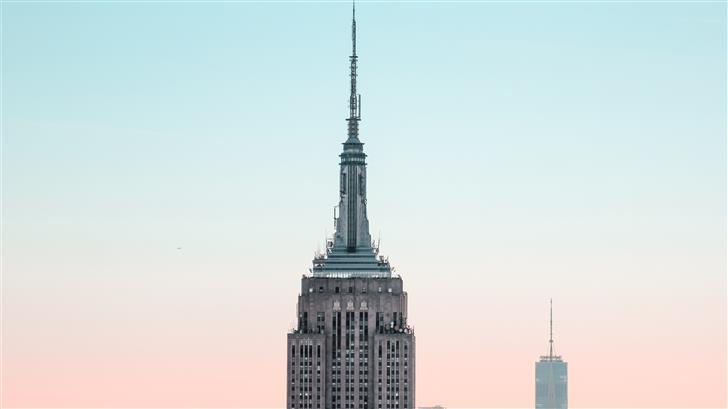 Empire State Building in New York City during dayt Mac Wallpaper