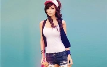 Cute Girl Mac wallpaper