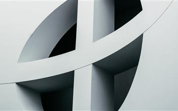 round white cross wlal All Mac wallpaper