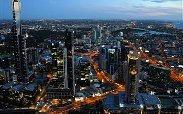 Australia melbourne cityscapes Mac wallpaper