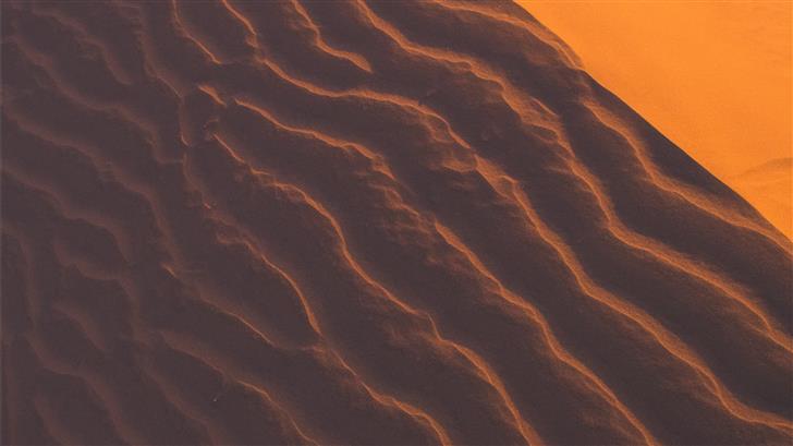 high angle view of desert Mac Wallpaper