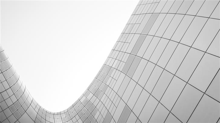 structural shot of building Mac Wallpaper
