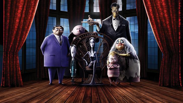 the addams family 8k movie 2019 Mac Wallpaper