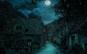 The dark village Mac wallpaper