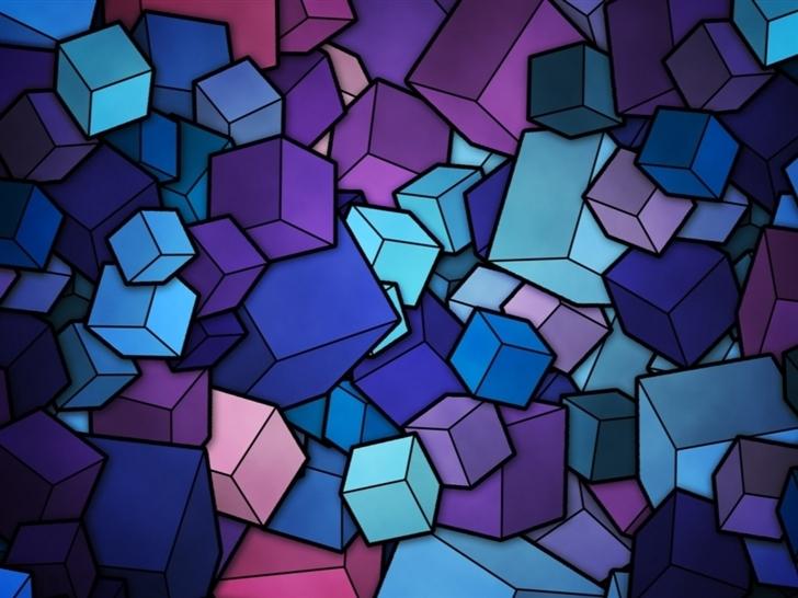 Simple geometry Mac Wallpaper