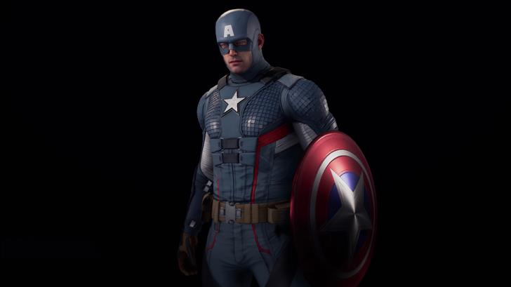 marvels avenger captain america 5k Mac Wallpaper