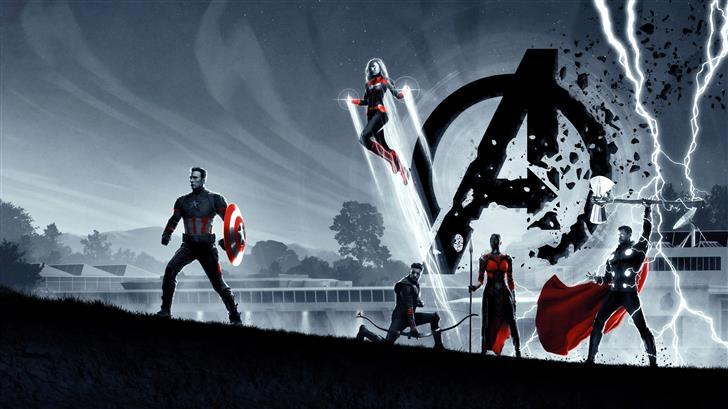 avengers endgame 8k 2019 Mac Wallpaper
