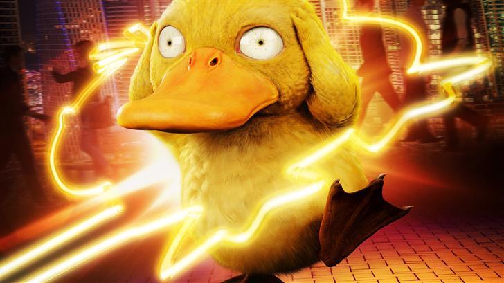 detective pikachu koda duck Mac Wallpaper