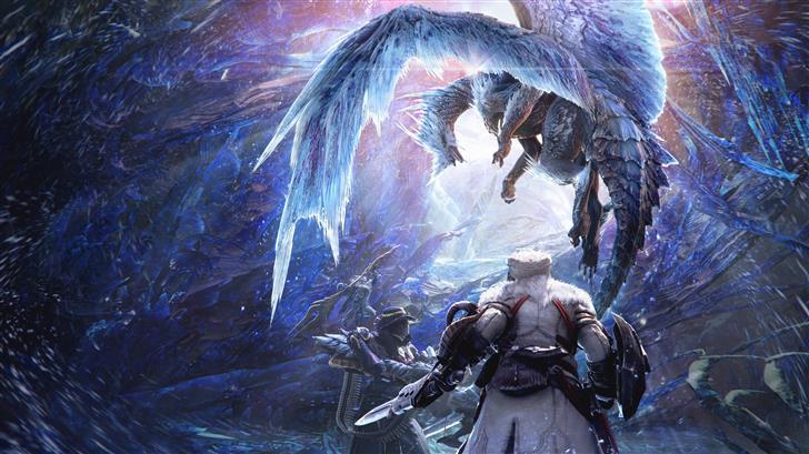 monster hunter world iceborne Mac Wallpaper