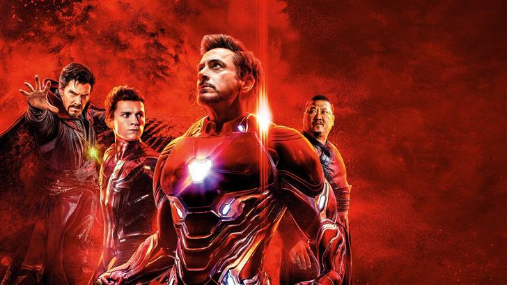 avengers infinity war reality stone poster 8k Mac Wallpaper