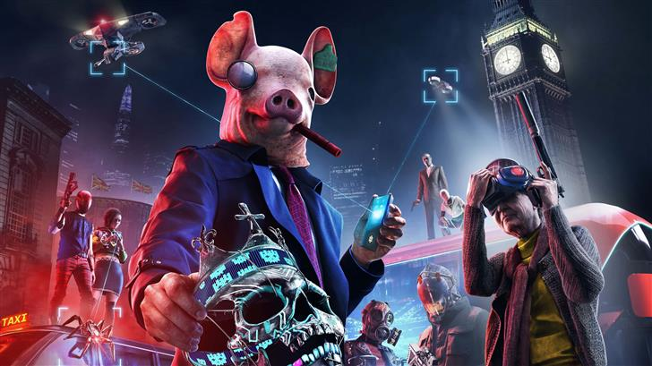 watch dogs legion 8k 2019 Mac Wallpaper