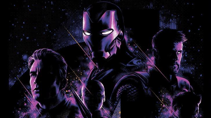 avengers endgame new poster Mac Wallpaper
