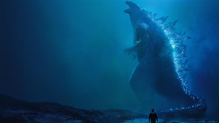 godzilla king of the monsters 8k Mac Wallpaper
