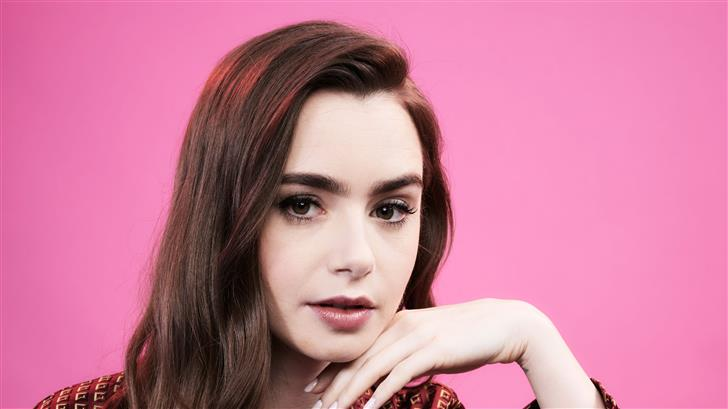 lily collins deadline contenders emmy event 2019 Mac Wallpaper