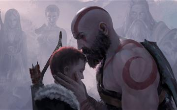 be safe son god of war 4 All Mac wallpaper