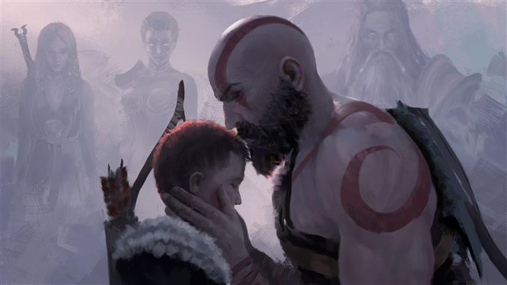 be safe son god of war 4 Mac Wallpaper
