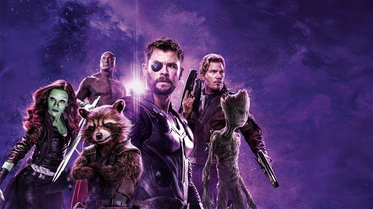avengers infinity war power stone poster 8k Mac Wallpaper
