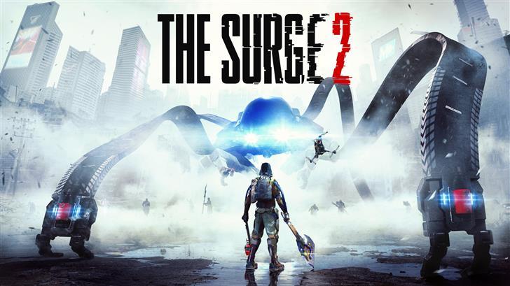 the surge 2 2019 game 8k key art Mac Wallpaper