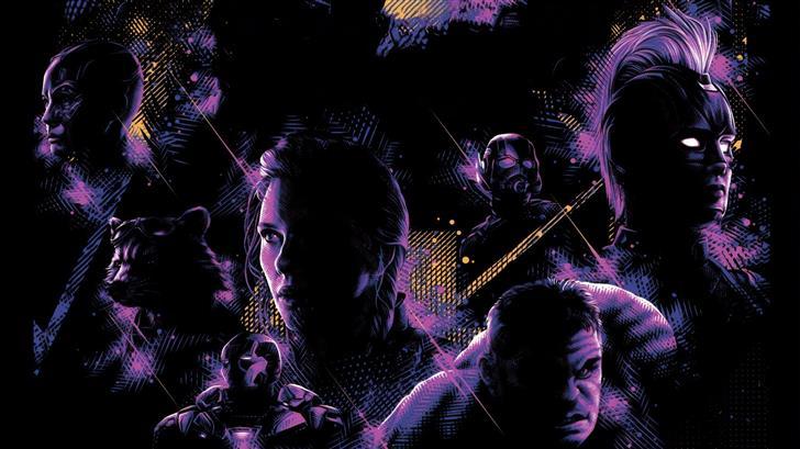 avengers endgame new poster 5k Mac Wallpaper