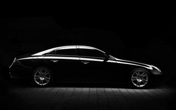 black sedan All Mac wallpaper