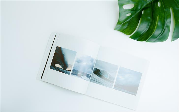 sea wave photo Mac Wallpaper