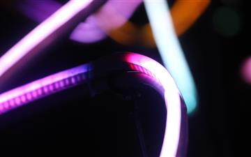 its another pic of some lights MacBook Air wallpaper