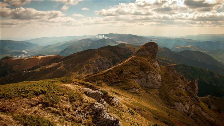 scenery of mountain Mac Wallpaper
