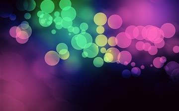 Bokeh light multicolor All Mac wallpaper