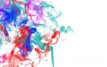 Smoke Patterns Lines Colorful Mac wallpaper