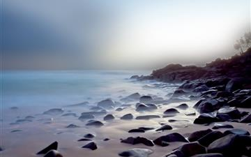 Coast landscapes Mac wallpaper