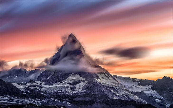 landscape photography of mountain during daytime Mac Wallpaper