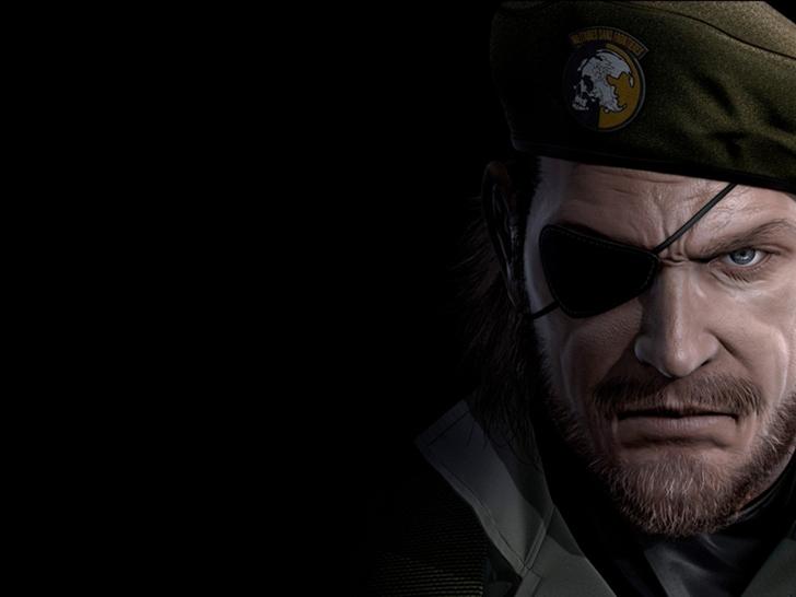 Big Boss Metal Gear Solid Eye Patch Mac Wallpaper Download