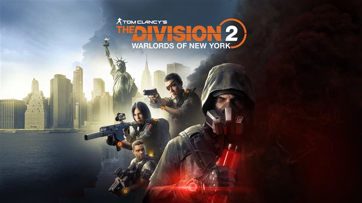 tom clancys the division 2 12k Mac Wallpaper
