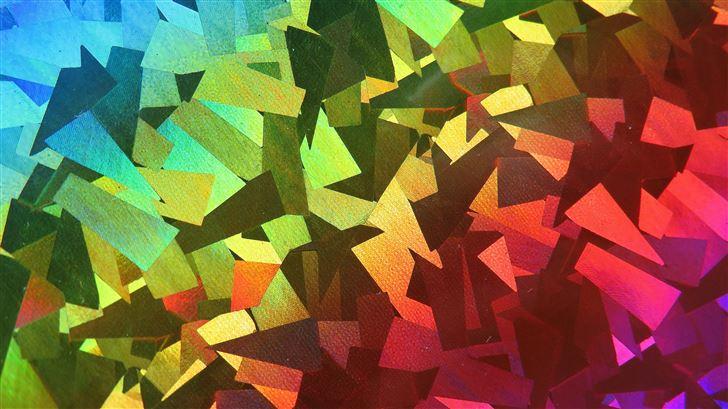 abstract shapes 4k 5k Mac Wallpaper