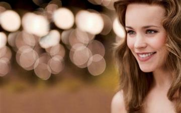 Rachel McAdams smile All Mac wallpaper