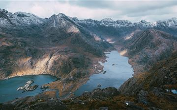 loch coruisk isle of skye scotland 5k iMac wallpaper