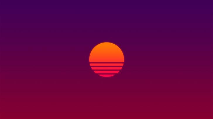 abstract sun 8k Mac Wallpaper