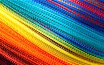 multi color texture threads 5k iMac wallpaper