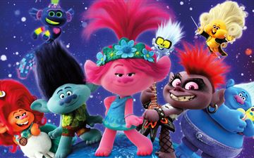 trolls world tour 2020 MacBook Air wallpaper