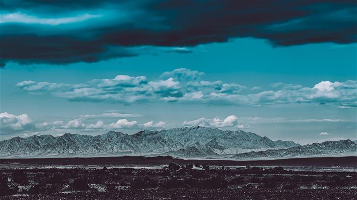 cloud sky landscape nature beach weather 5k Mac Wallpaper