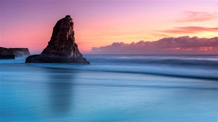 silent sea 8k Mac Wallpaper