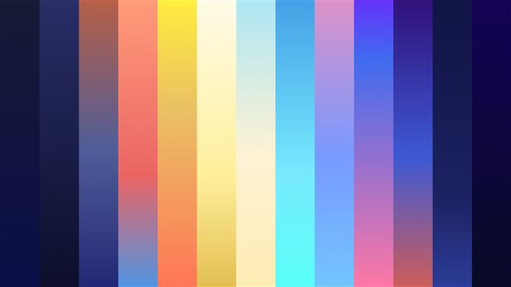 dynamic gradient 5k Mac Wallpaper