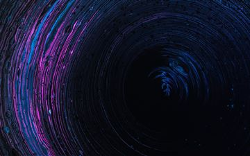 light glow in circle 5k All Mac wallpaper