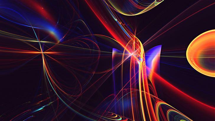 fractal apopysis digital art 8k Mac Wallpaper