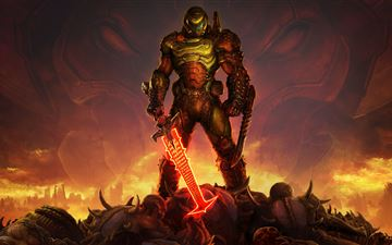 doom eternal 5k All Mac wallpaper