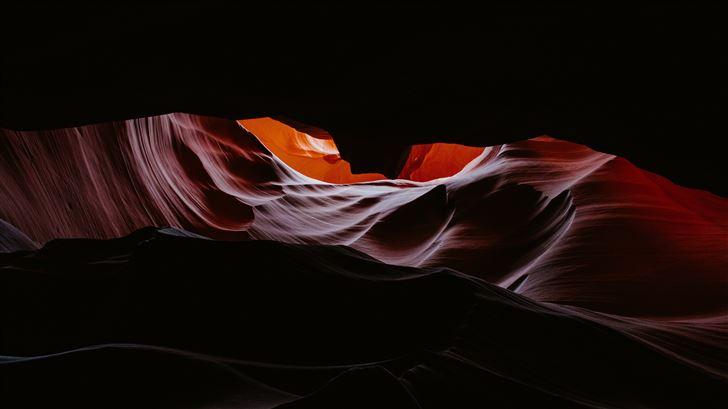 antelope canyon 4k 5k Mac Wallpaper