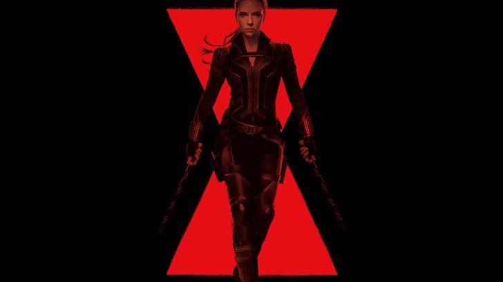 black widow 5k 2020 Mac Wallpaper